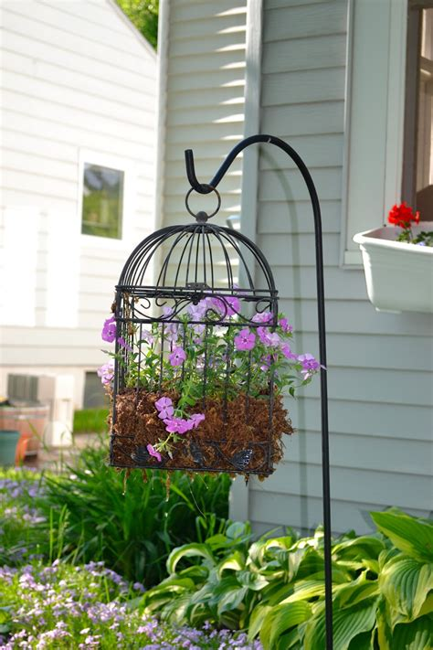 Bird Cage Planters by Our House In The Middle Of Our Bird Cage Planter