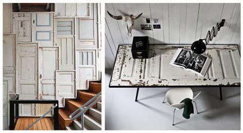 Idee Deco Porte by D 233 Co Porte 10 Id 233 Es Pour R 233 Utiliser Une Porte Vintage
