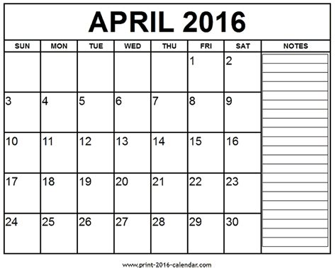 april 2016 calendar april 2016 related keywords april 2016 long tail
