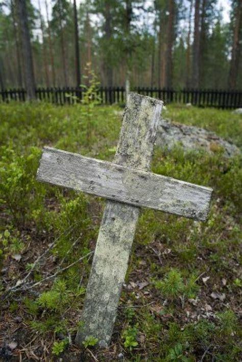 on grave cross on grave crosses
