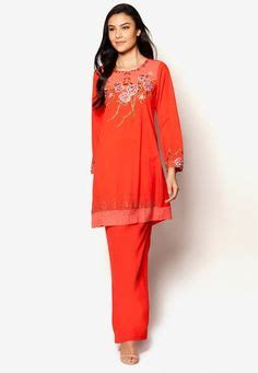 baju over roll malaysia baju kurung cotton warna white red baju raya 2016