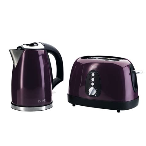 Purple Toasters And Kettles two slice toaster and jug kettle set from next buyer s