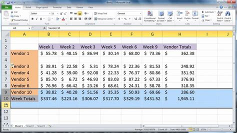 How To Add A Column To A Table In Sql by Excel 2010 Insert Rows And Columns