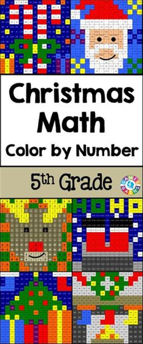 christmas math centers first grade 1000 images about math for fifth grade on decimal 5th grade math and task cards