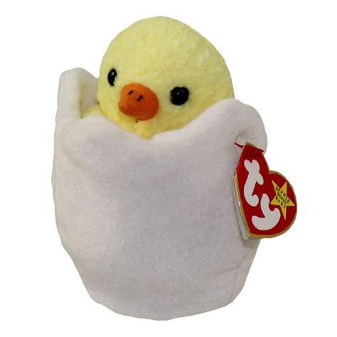 beanie baby ty beanie baby eggbert the egg 6 inch