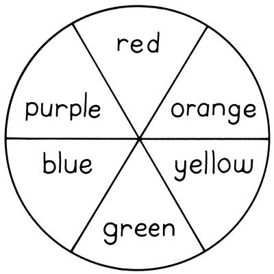coloring pages color wheel coloring pages create a color wheel to learn about
