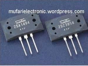 A 1494 C 3858 By Sinarteknik sanken 2sa1494 2sc3858 mufari electronic