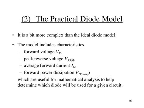 what is practical diode topic 3 pn junction and diode