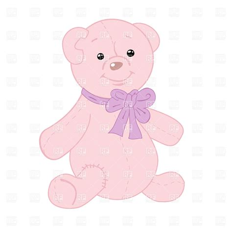 light pink teddy bear clipart pink teddy bear www pixshark com images