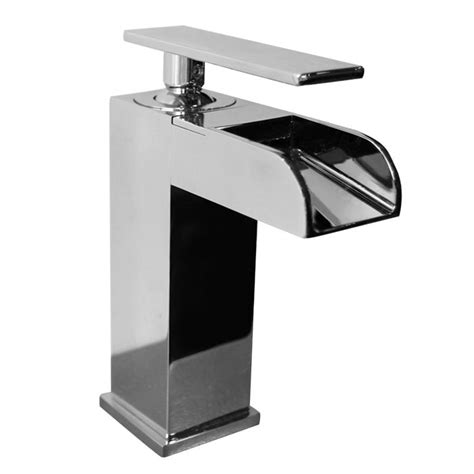 valley bathroom fixtures valley single lever waterfall bathroom faucet the home