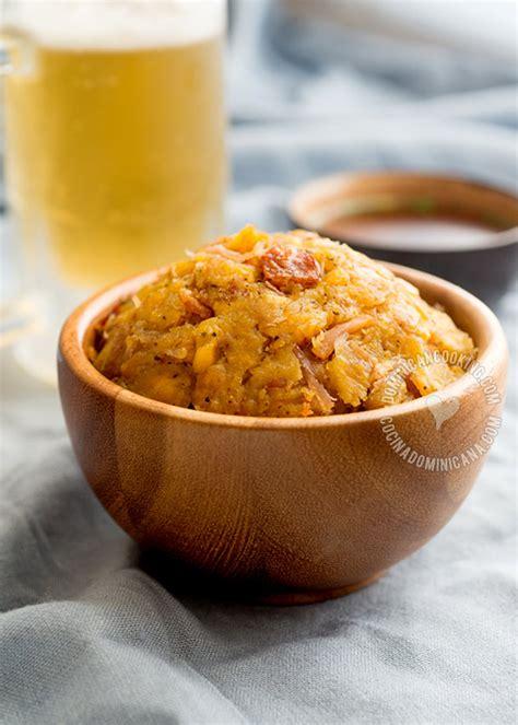 mofongo recipe garlic flavored mashed plantains