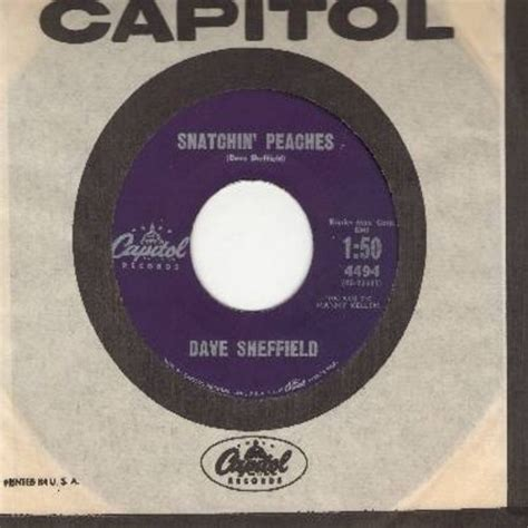 Sheffield Records Snatchin Ting Laundry Novelty 2 Sider With Vintage Capitol Company