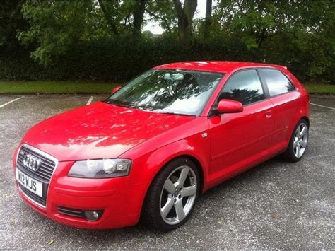 Red Audi A3 For Sale by Used 2005 Audi A3 Hatchback Red Edition 1 6 3dr Petrol For