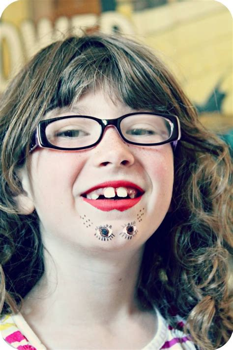 scary  unique kids halloween makeup ideas