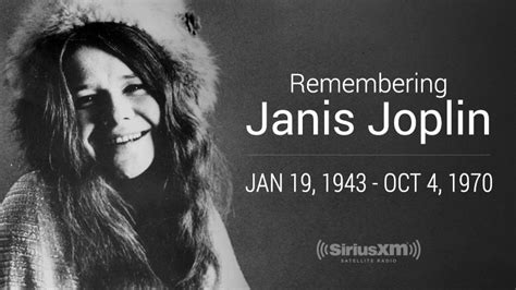 remembering janis joplin    anniversary   death
