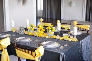 Modern Yellow by Modern Yellow Amp Slate Wedding Inspiration Every Last Detail
