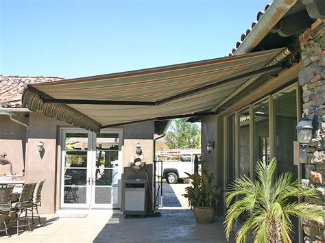 deck awnings retractable elite heavy duty retractable patio awning