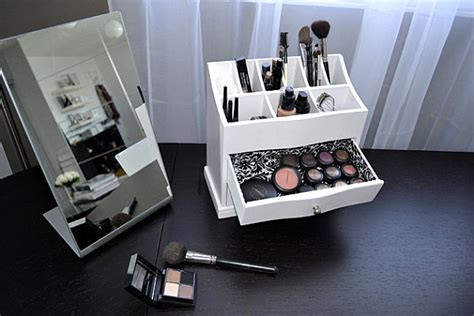 Shelf For Makeup by More Makeup Organizer Ideas For A Tidy Display Of Products Decorations Tree