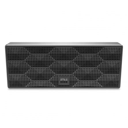 Speaker Bluetooth Xiaomi Metal Box by Xiaomi Square Metal Box Bluetooth Portable Speaker Black