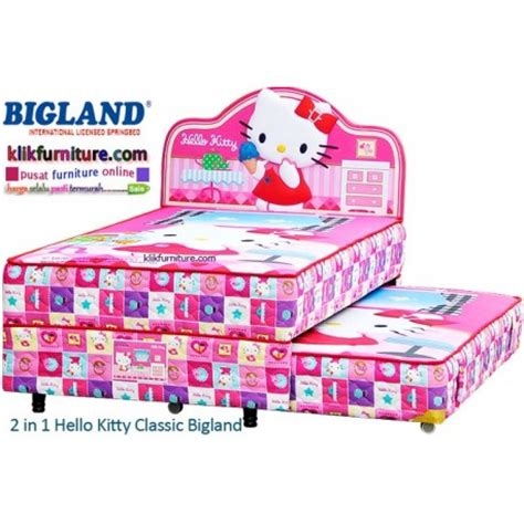 Bed Bigland 2 In 1 Frozen hello bigland springbed model paling baru