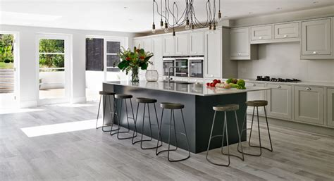 Gray Kitchen Cabinets by Wood Look Tile Ideas For Every Room In Your House