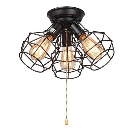 pull string ceiling light lnc wire cage ceiling lights 3 light pull string flush