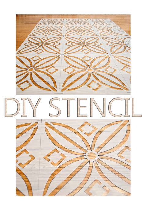 Handmade Stencils - how to make a stencil no costly gadgets required