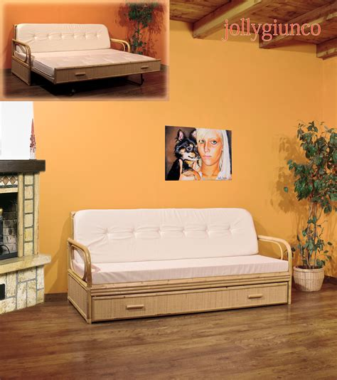 divanetti in vimini da esterno produzione divani letto in rattan midollino giunco