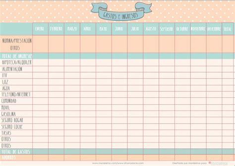 hoja de gastos mensual es c 243 mo calcular nuestros gastos mensuales consejos para