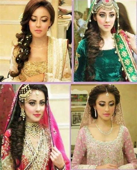 beautiful and easy hairstyles in pakistan new mehndi hairstyle for long hair