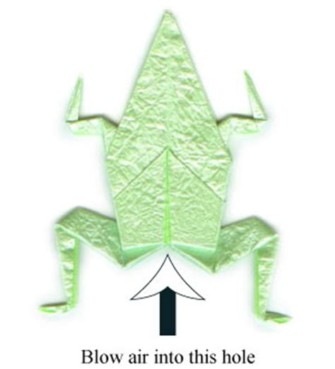 Traditional Origami Frog - how to make a traditional origami frog page 24