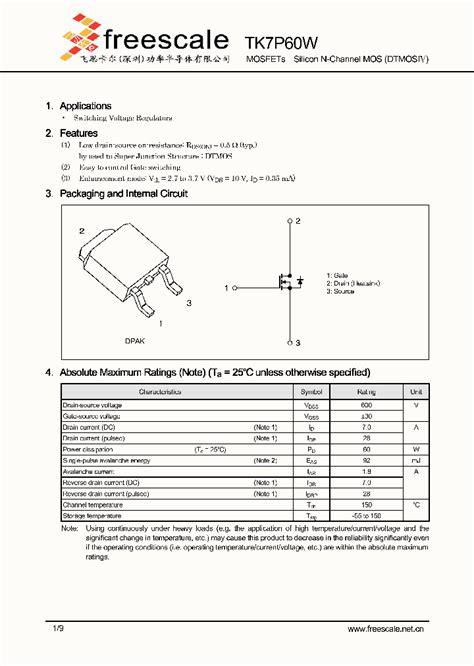c930 transistor datasheet pdf tk7p60w 5067478 pdf datasheet ic on line