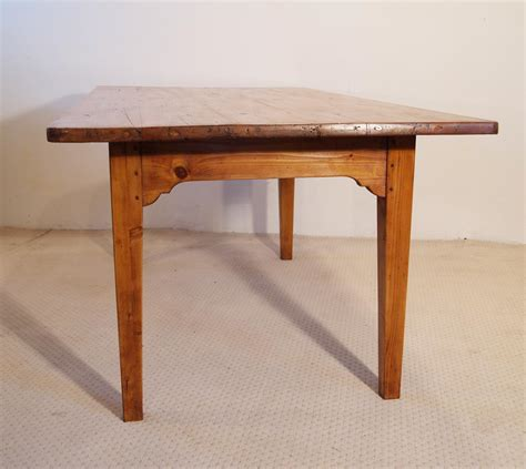 french vintage pine farmhouse kitchen table end wild