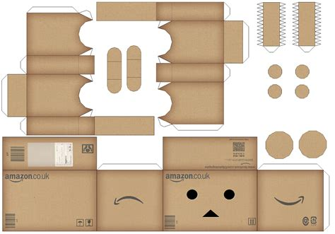 Pola Papercraft Mobil Up danbo favourites by efrece on deviantart