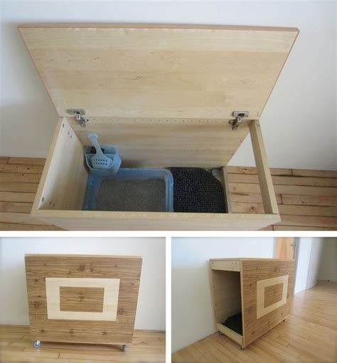 Cat Litter Box Furniture Diy by 27 Useful Diy Solutions For Hiding The Litter Box