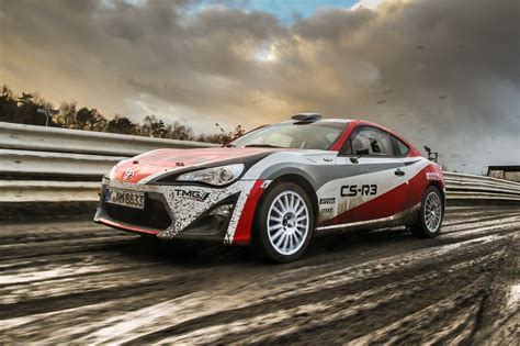 toyota gt 86 cs r3 rally car readying for deliveries