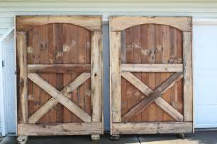 how to build a rustic barn door headboard world