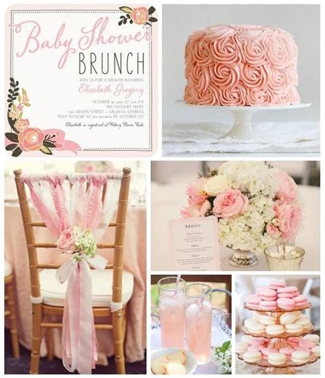 rose themed baby shower rose themed brunch or baby shower par tay pinterest