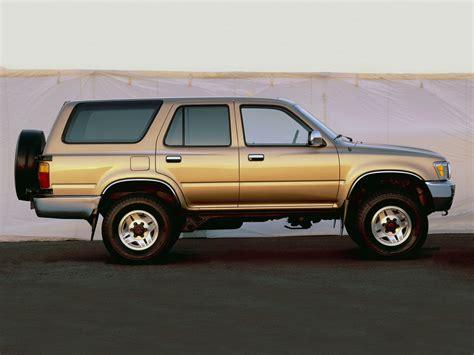Toyota 4runner Length Toyota 4runner Specs 1990 1991 1992 1993 1994 1995