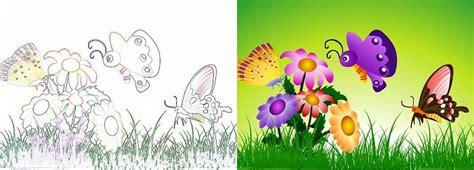 Большие рисунки о природе