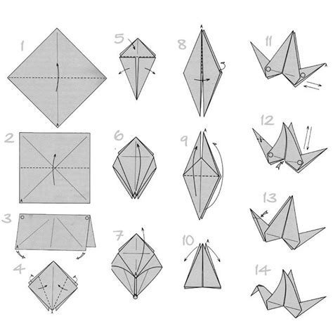 How To Make A Paper Swan Out Of Triangles - 17 best ideas about origami flapping bird 2017 on