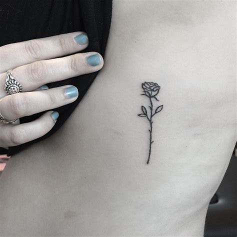 perfect rose tattoo 1 287 likes 10 comments handpoked tattoos horseforest