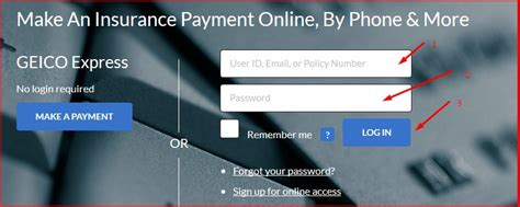 geico login steps for geico auto insurance login and - Boat Us Geico Login