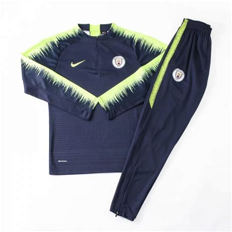 manchester city royal blue long sleeve training suit