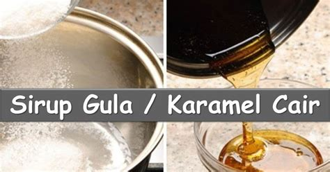 Gula Sirup Simple By H O W Kitchen cara membuat sirup gula untuk es buah masakan indonesia