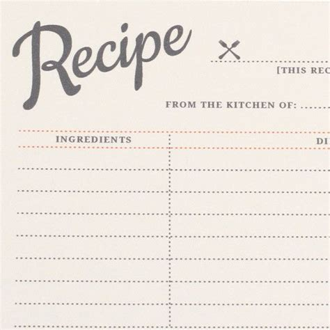 free recipe card templates to type on 5541 best papre images on printable recipe