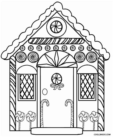 coloring pages for gingerbread house printable gingerbread house coloring pages for kids