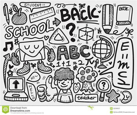 doodle school doodle school stock image image 20298501