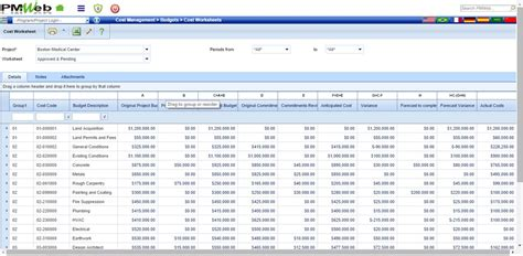 Project Cost Report Template