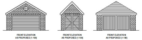 Garage Plans With Cost To Build Garage Design Plans Planning Permission Applications And